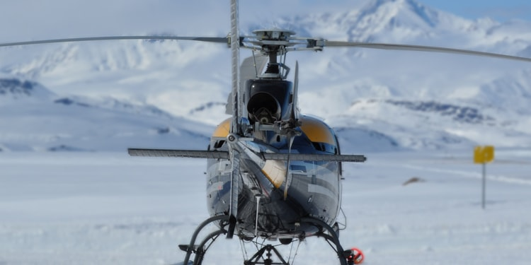 Helicopter Greenland